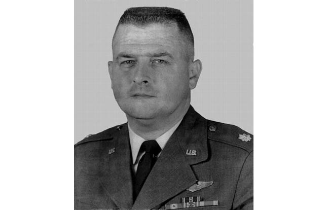 The remains of an Air Frorce Pilot who vanished 45 years ago have been laid to rest at a repatriation ceremony at the Air Force Memorial on Dec. 13.