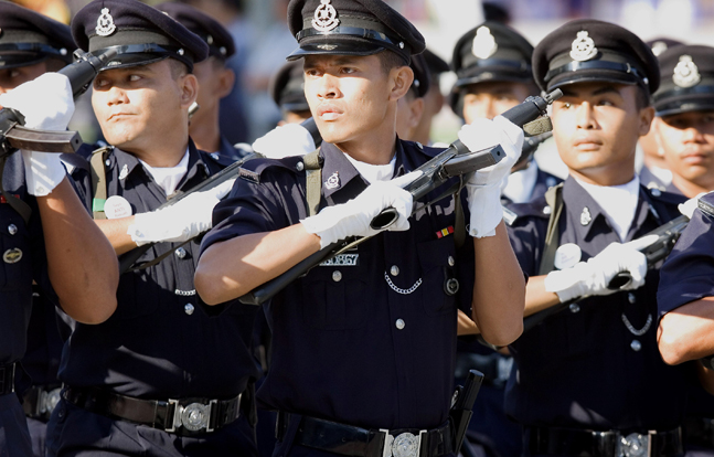 Malaysian road transport officers will soon get 256 firearms in order to defend themselves while on duty.