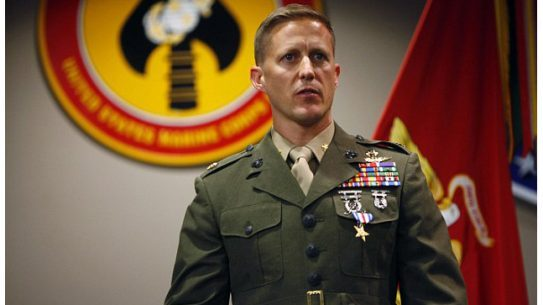 Marine Corps Officer To Get Silver Star After Camp Bastion Attack
