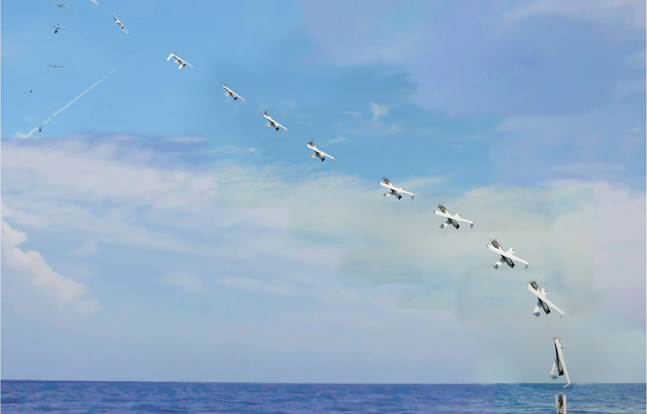 The US Navy demonstrated the launch of an all-electric, fuel cell-powered, unmanned aerial system (UAS) from a submerged submarine.