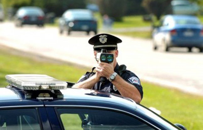Local law enforcement in upstate New York gathered to take a class about the latest new speed-tracking radar equipment.