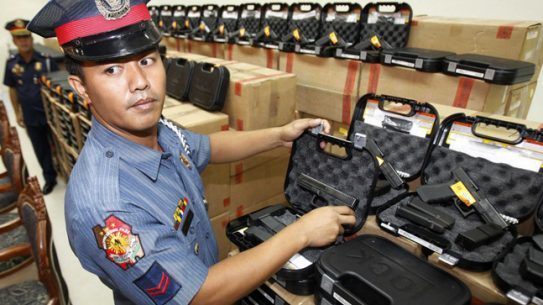 Philippine National Police Philippine National Police Get New GlocksGet New Glocks
