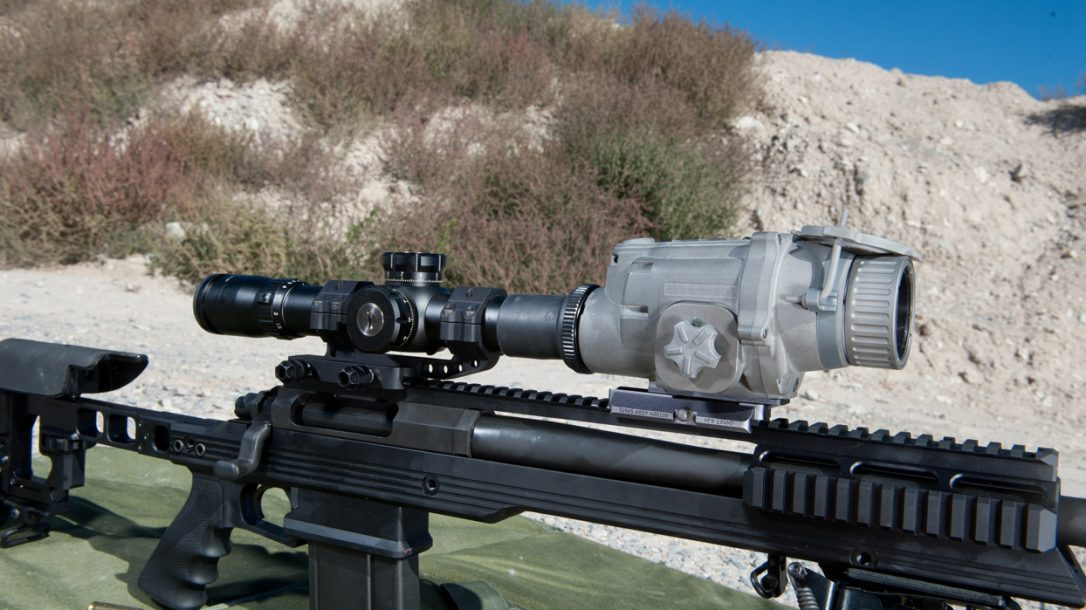 Preview- EOTech Light Weapon Thermal Sight - Mated to scope