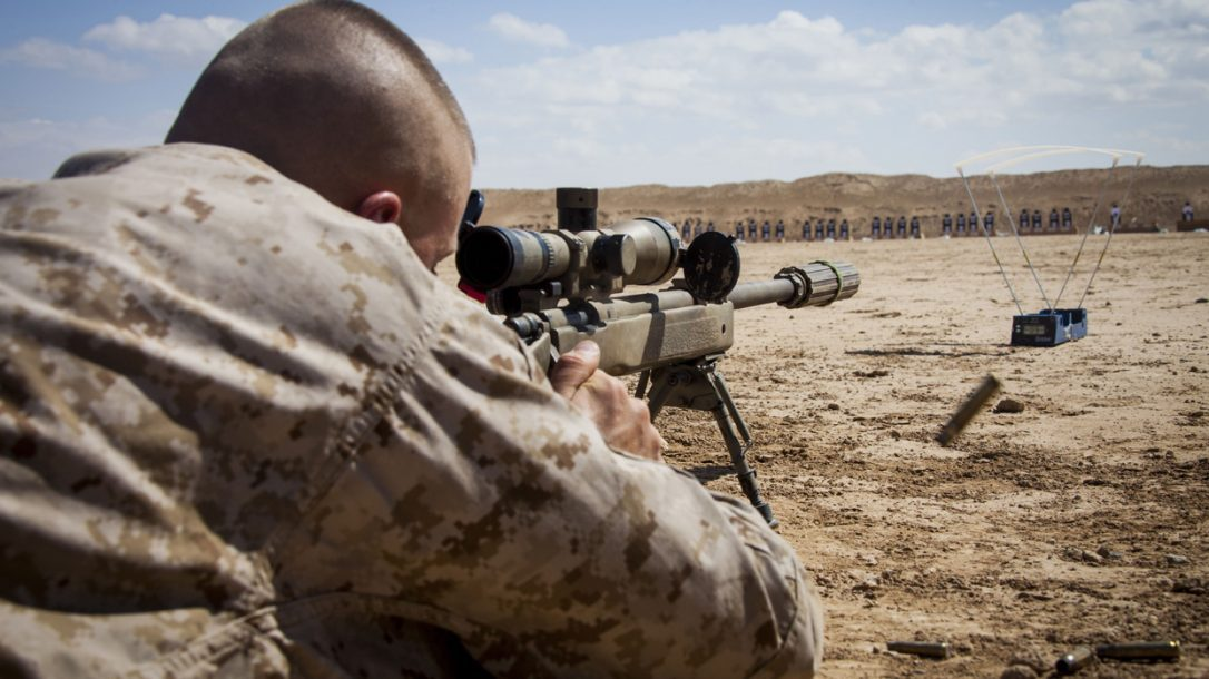 Preview - USMC Scout Sniper School - On the Range (DoD Photo)
