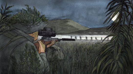 Preview- Under Fire - Vietnam Combat Sniper - Night mission