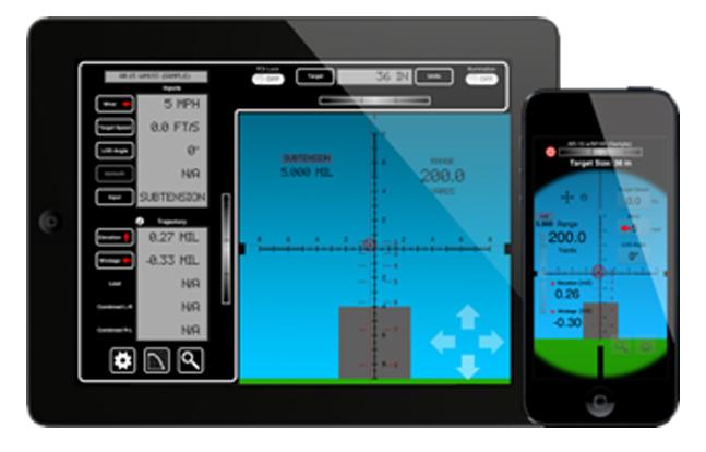 Range-Time Software Mil-Dot Ballistics