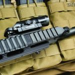 As with all SR-556 rifles, the byproducts of the gas system are vented out the bottom of the gas block, away from the bolt carrier, keeping the action clean and free from contaminants.