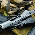 The Ruger SR-556's bolt assembly is not only robust—it's also chrome plated to reduce friction, increase its life and make it easier to clean. The two-stage piston supplies a smooth delivery stroke to the bolt carrier so as not to compound recoil.