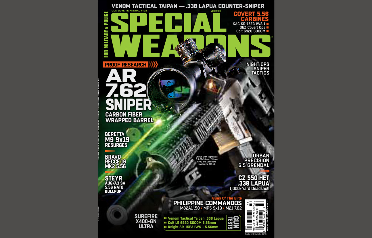 SPECIAL WEAPONS FOR MILITARY & POLICE - JUNE 2013