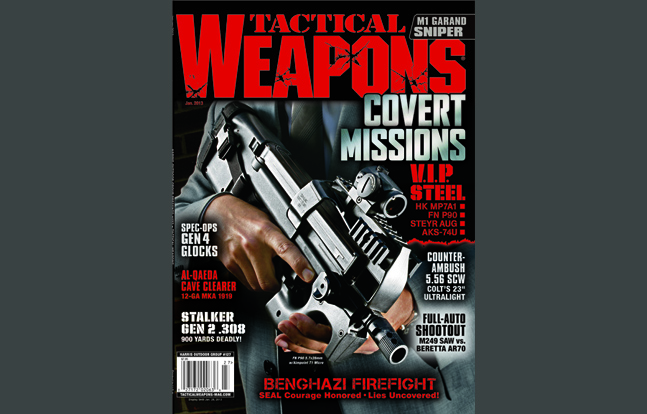 TACTICAL WEAPONS - January 2013