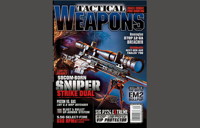 TACTICAL WEAPONS - March 2013