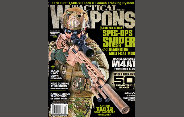 TACTICAL WEAPONS - November 2013