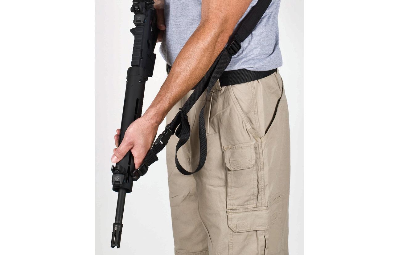 Top 10 Black Gun AR Accessories - Blackheart International Quick-Adjust Weapons Sling  1B