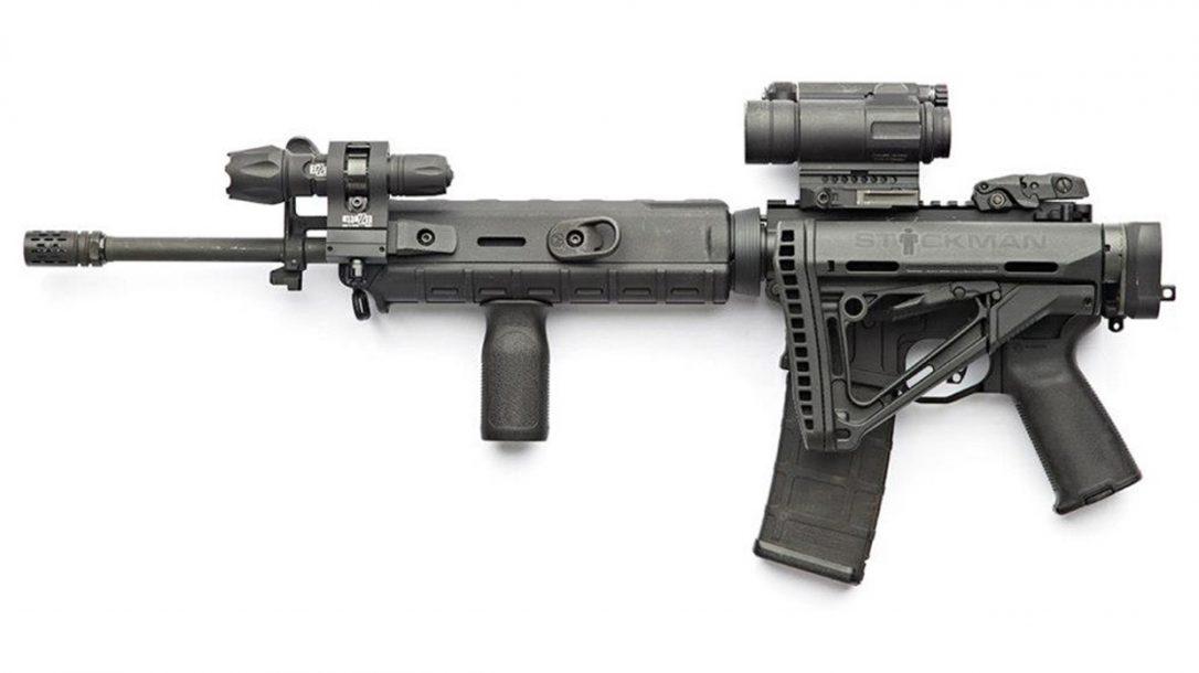 Top 10 Black Guns AR Accessories - Law Tactical Folding Stock Adapter