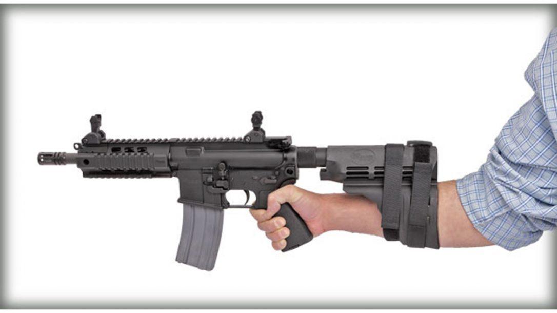 Top 10 Black Guns AR Accessories - Sig Sauer SB15 Pistol Stabilizing Brace
