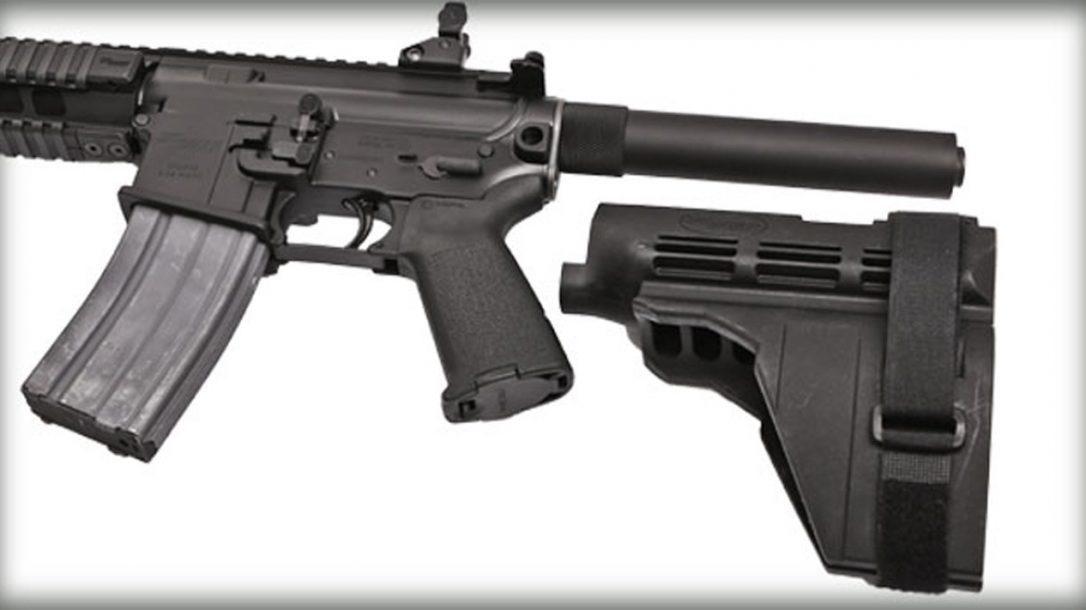 Top 10 Black Guns AR Accessories - Sig Sauer SB15 Stabilizing Brace