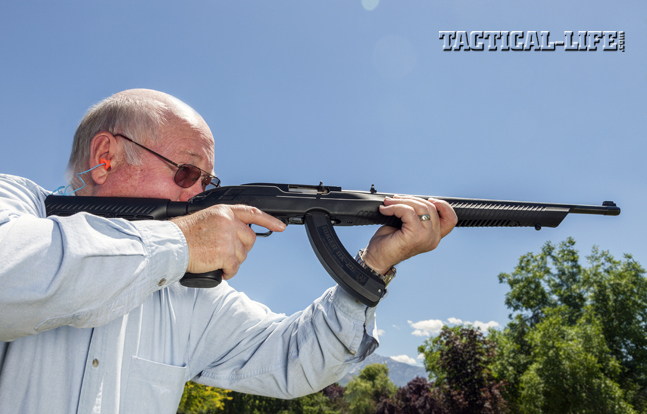 TacStar's Adaptive Tactical stock can take your Ruger 10/22 to the next level. The chassis features an M4-type adjustable buttstock, sleek lines, means for mounting accessories and the durability of reinforced polymer.