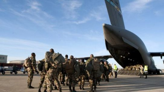 African and European peacekeepers are being flown to the war-torn Central African Republic via United States military aircraft.