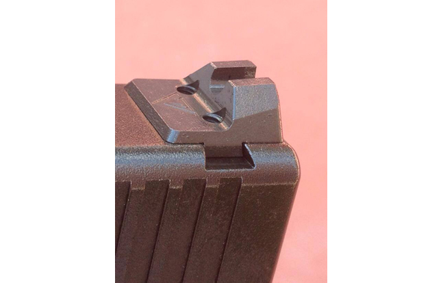 Vickers Tactical and Larry Vickers has a set of sights for the Glock coming through a collaboration with Wilson Combat.
