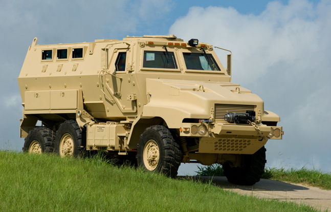 Three counties and a police department in Wyoming added a massive MRAP armored vehicle to their arsenal.