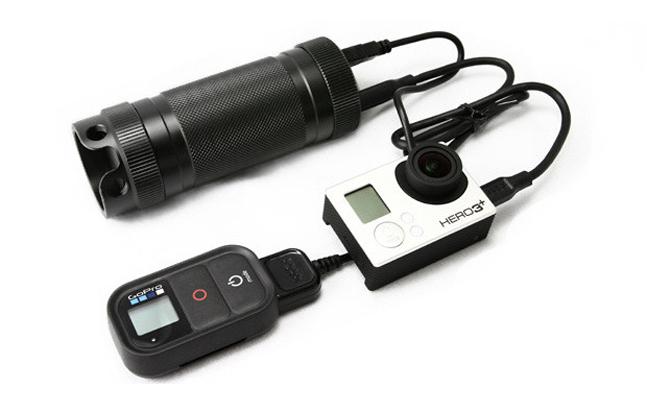 ZeroHour Modular Tactical USB Battery Backup Flashlight