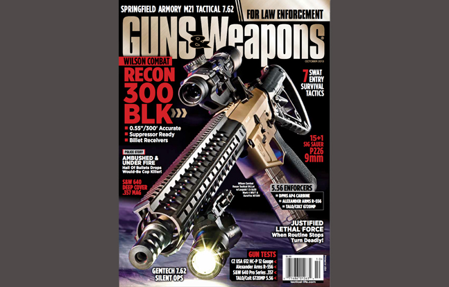 Guns & Weapons for Law Enforcement October 2013