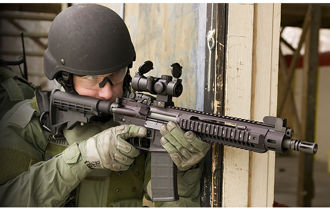 Adcor Upper Matching Billet Ambidextrous Side Charging Gas Piston Rifle