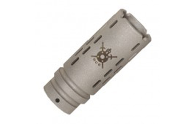 BattleComp BC1.5 compensator in Matte Stainless