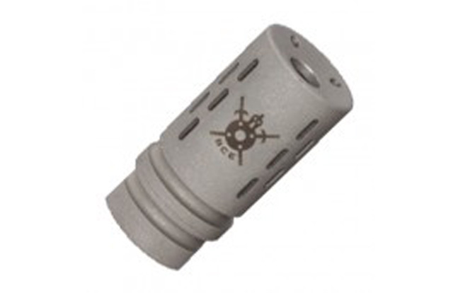 BattleComp BC1.0 compensator in Matte Stainless