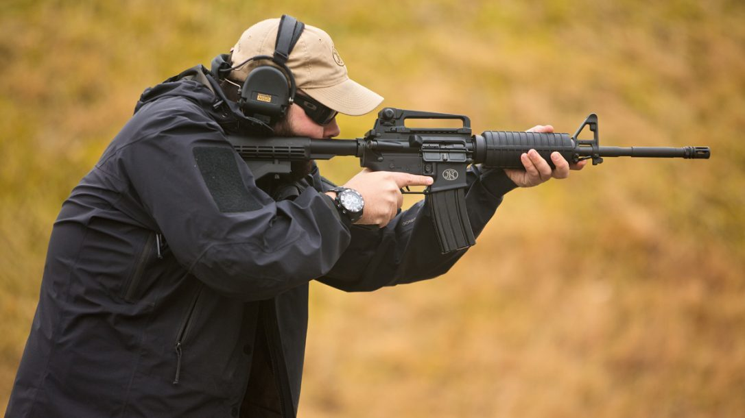 FN-15 Carbine Standing