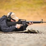 FN-15 Rifle Prone