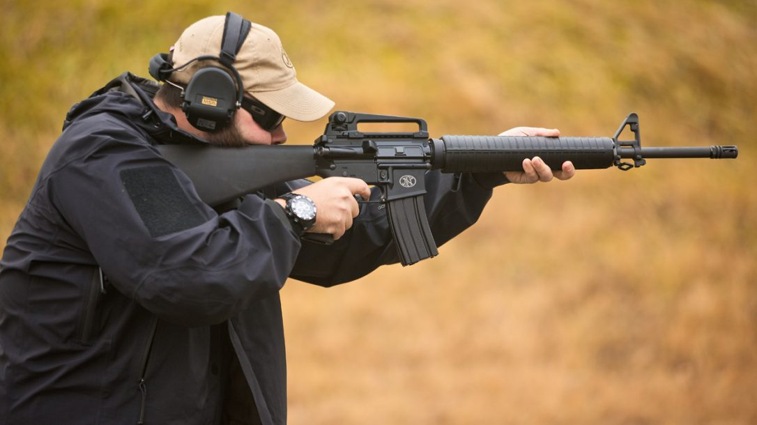 FN-15 Rifle Standing