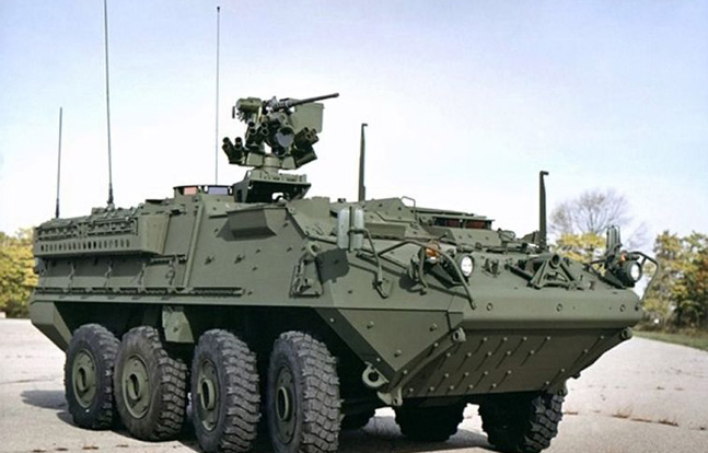 A Fort Carson brigade is replacing tanks with Strykers.