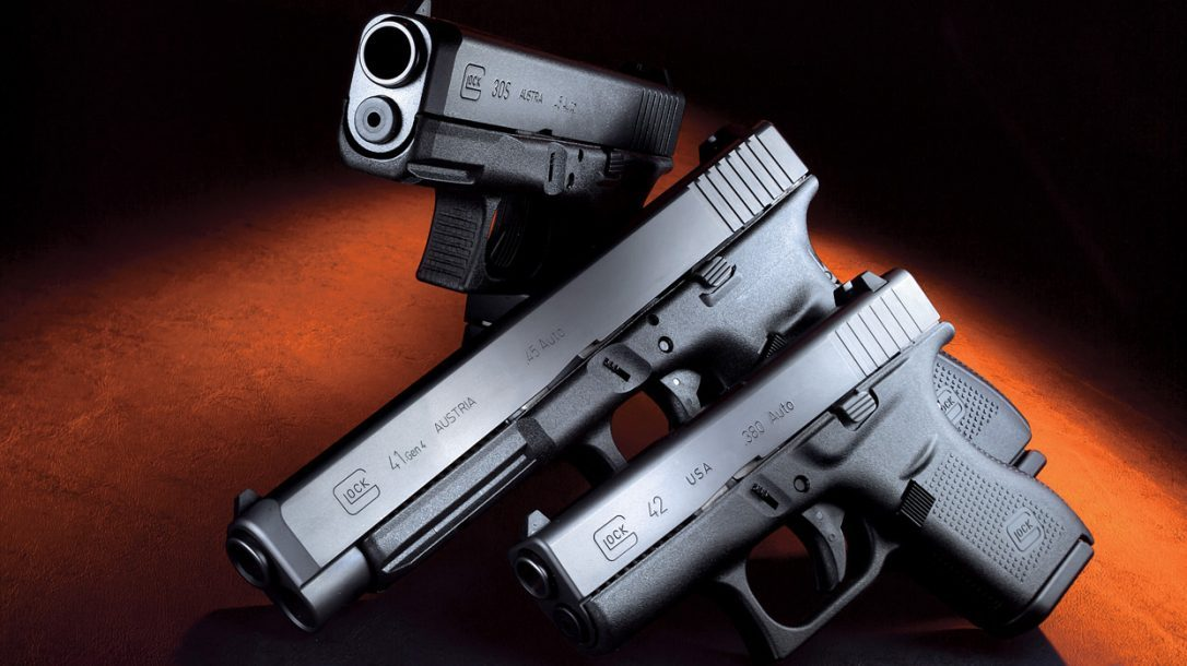 Glock 41 Gen 4 and Glock 42 compared to the Glock 30S