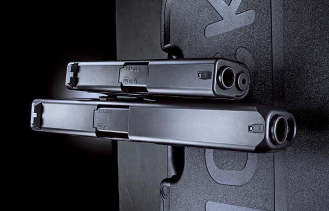 Glock 41 Gen4 and Glock 42 side by side
