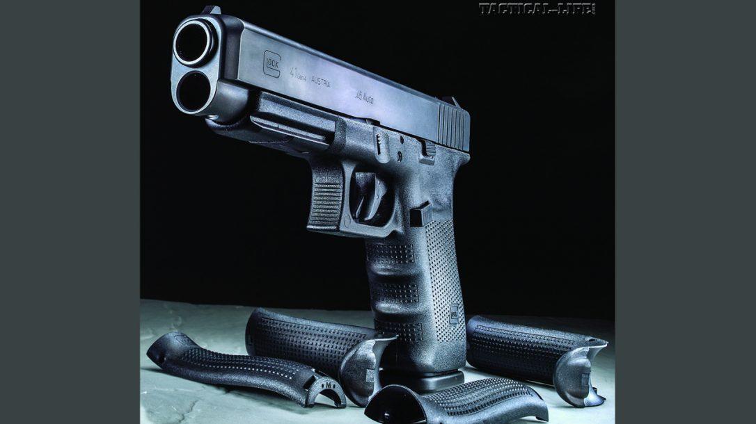 Glock 41 Gen4 with interchangeable backstraps