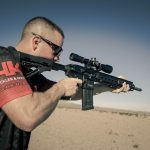 Jason-Koon, captain of the HK Shooting Team, using the new HK 30-Round Polymer Magazine in an HK MR556A1