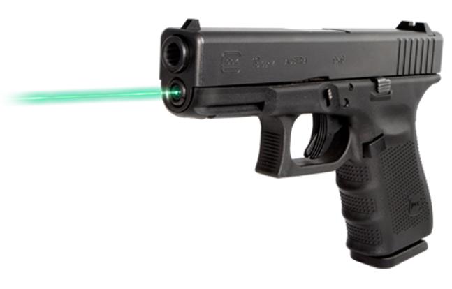 Lights, Lasers & Optics - New for 2014 | LaserMax Green Guide Rod Laser for Glock Pistols