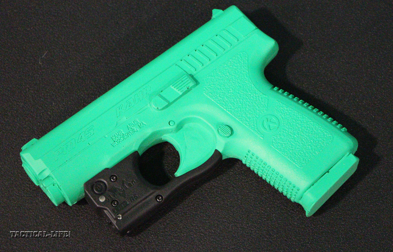 Lights, Lasers & Optics - New for 2014 | Viridian R5 and R5-R for Kahr 9mm and .40 Smith & Wesson Pistols