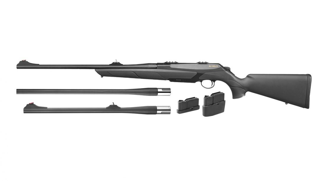 Merkel RX Helix Explorer Bolt-Action Rifle with interchangeable barrels
