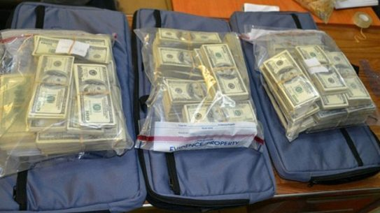 Police Find Suitcases Carrying $7.2 Million in Panama Airport