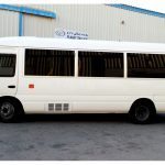 The Armored Group - Toyota Coaster Bus | VIP Protection