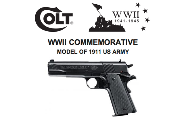 Umarex Colt 1911 WWII Commemorative Edition Airgun