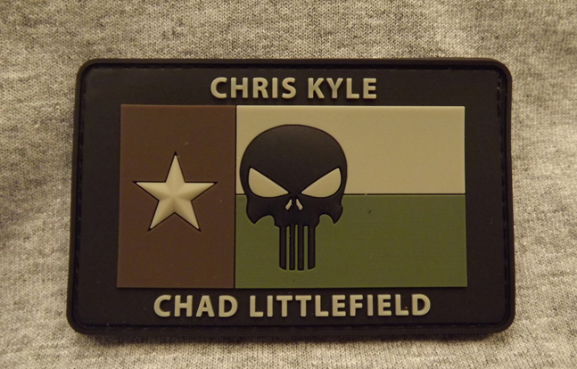Chris Kyle/Chad Littlefield Memorial Patch - Green