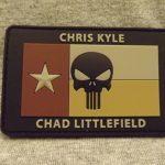 Chris Kyle/Chad Littlefield Memorial Patch - Tan