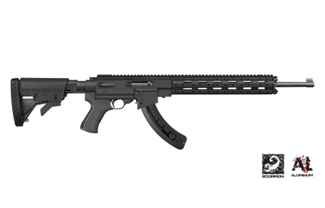ATI Ruger 10/22 AR-22 Stock System with 8-Sided Forend