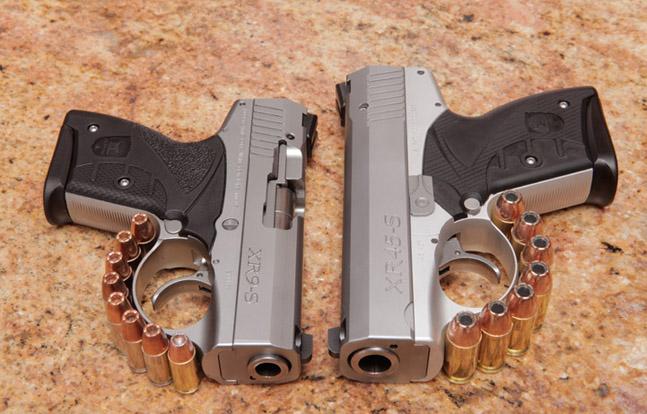 12 New Compact & Subcompact Handguns For 2014 | Boberg XR45-S vs XR9