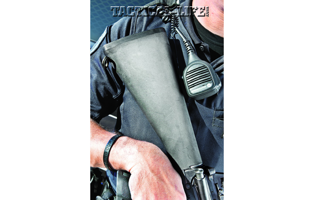 The fixed A2-style buttstock, offering a solid, stable cheekweld, can provide an accuracy edge over traditional collapsible stocks.