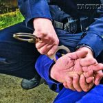 Suspects should be in your control before you try to apply the handcuffs.