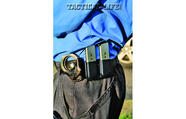 Handcuffing is an important task to master as an officer, whether you're in uniform or plainclothes